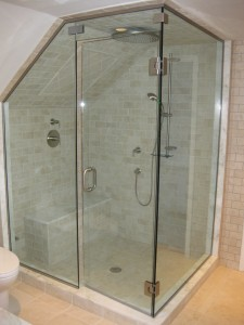 Recent Shower Installation