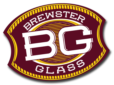 Brewster Glass Retina Logo